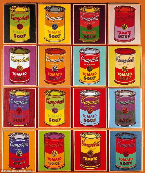 barattoli minestra Andy Warhol