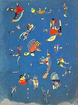 quadro Sky Blue Kandinskij