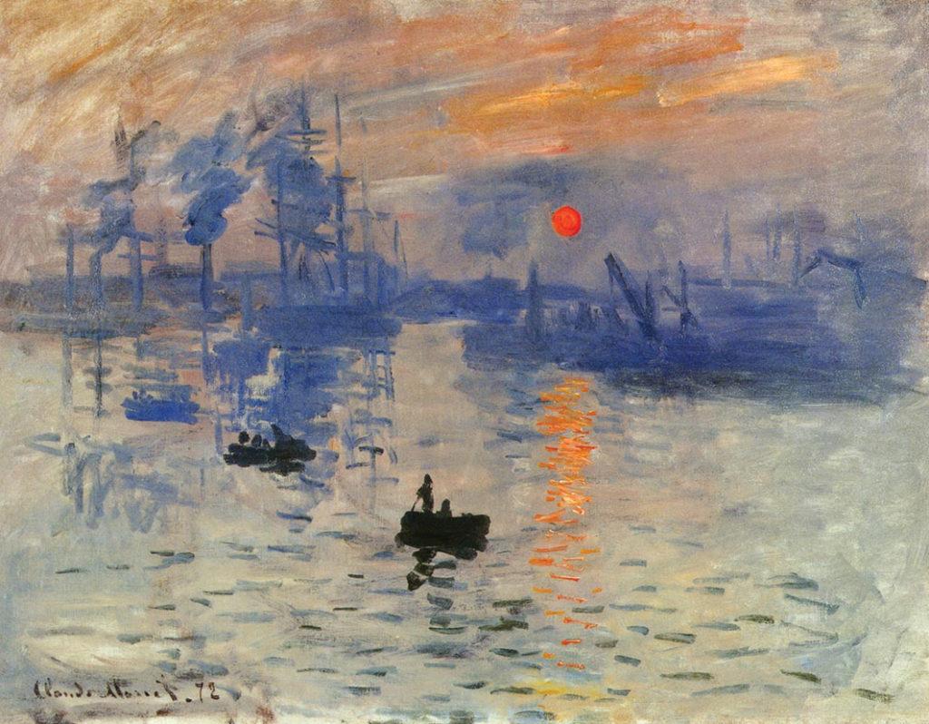 Levar del sole Monet