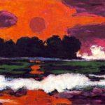 quadro Sole dei tropici - Nolde