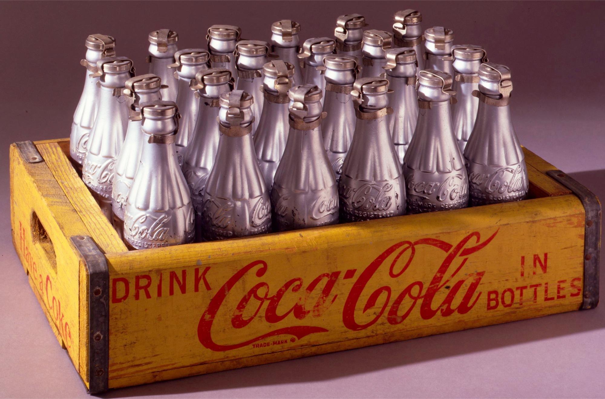 cassetta coca cola Warhol