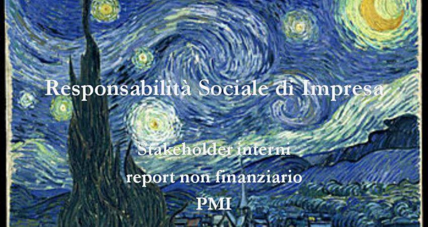 eBook: Responsabilità Sociale di Impresa. Stakeholder interni, report non finanziario, PMI