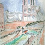 quadro Matisse cattedrale Notre Dame